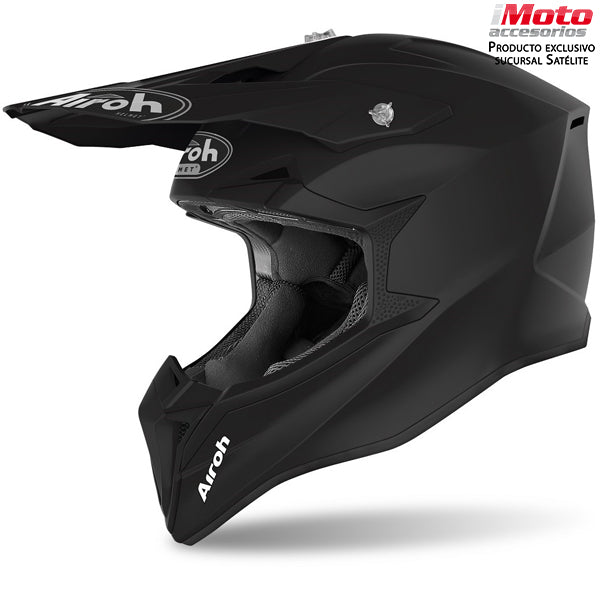 CASCO AIROH WRAPP - COLOR BLACK MATT