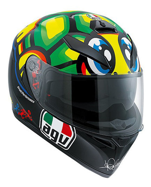 CASCO INTEGRAL AGV K-3 SV TOP-LA TORTUGA