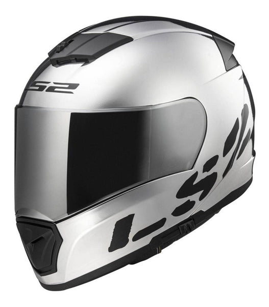 Casco integral LS2 Breaker Chrome