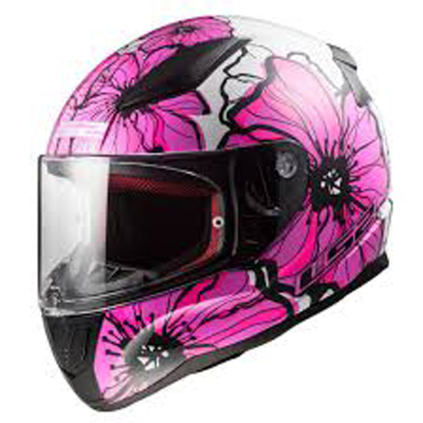 Casco integral LS2 Rapid Poppies