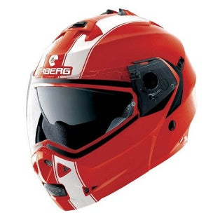 Casco abatible Caberg Duke II Legend Rjo/Bco