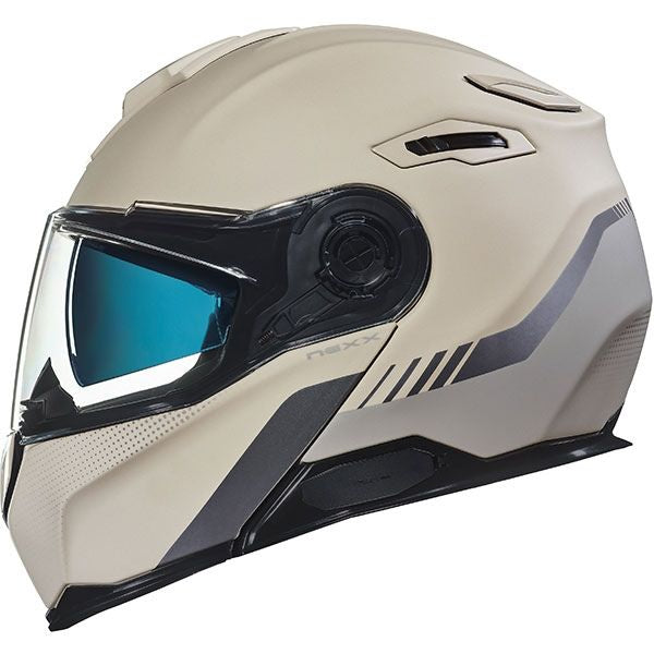 Casco abatible Nexx X.VILITUR LATITUDE SAND/GREY