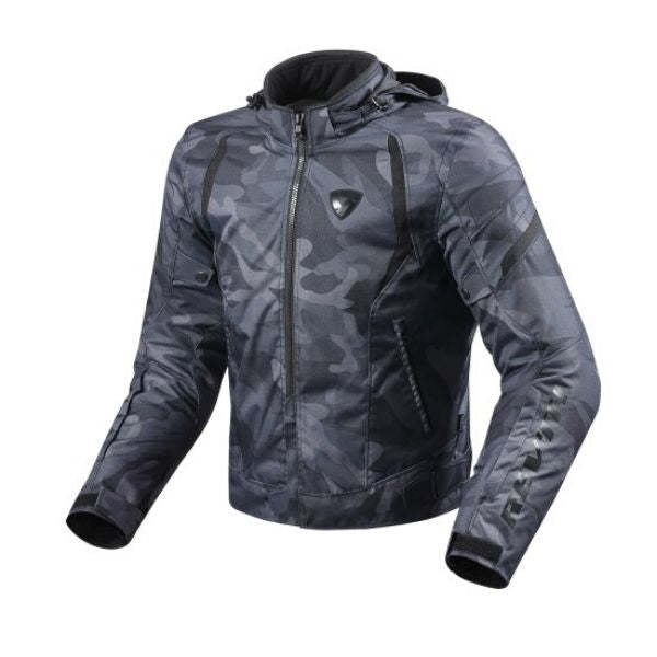 JACKET FLARE ARMY BLACK