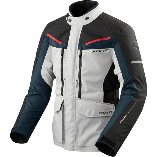 JACKET SAFARI 3 SILVER BLUE