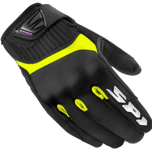 GUANTES G-FLASH TEX LADY BLACK/HIVIZ