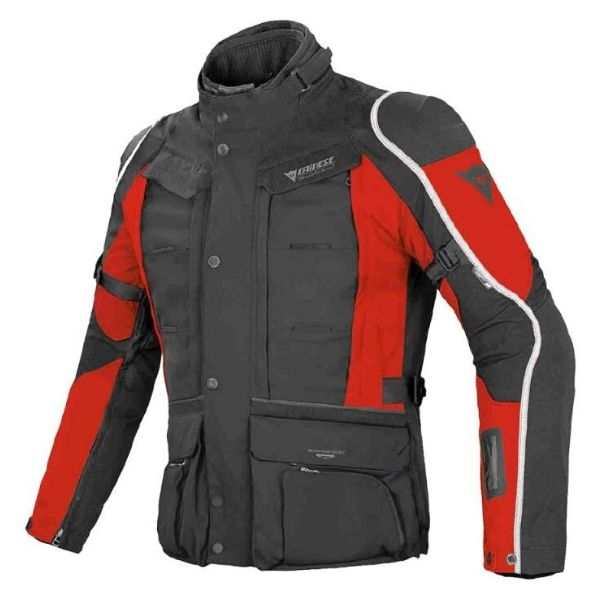 CHAMARRA D-EXPLORE GORE-TEX NGO/RJO/BCO DAINESE