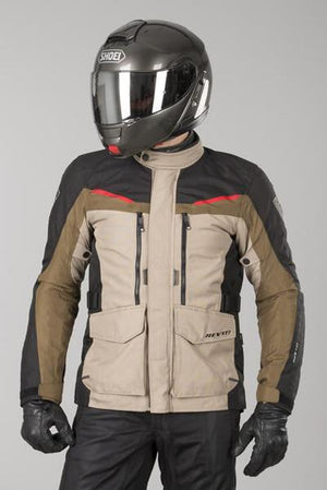JACKET SAFARI 2 SAND BLACK