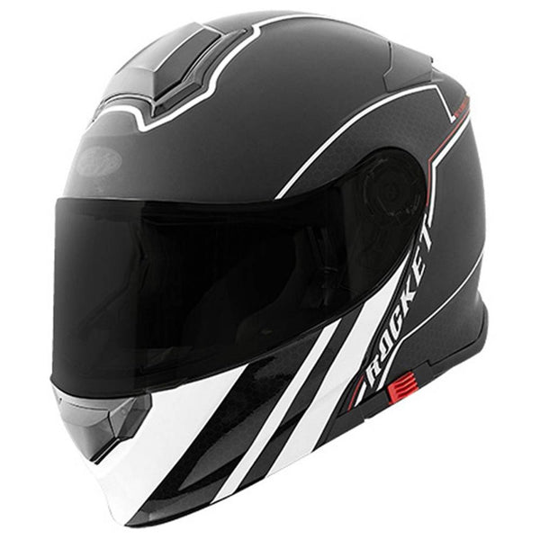 Casco integral Joe Rocket RKT 18 ALTER EGO Blanco