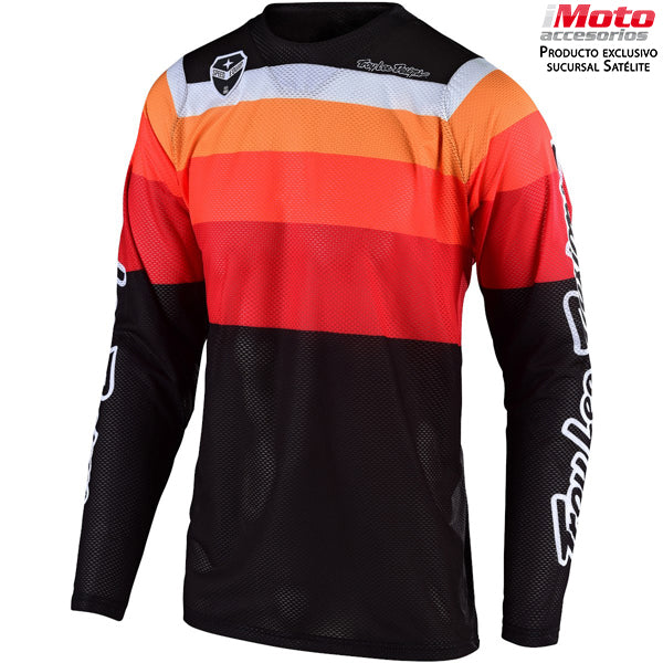 SE AIR JERSEY SPECTRUM - ORANGE / BLACK