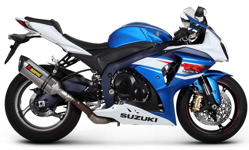 Slip-On Titanio Suzuki GSX-R600/750 (11-15): S-S6SO8-HZT