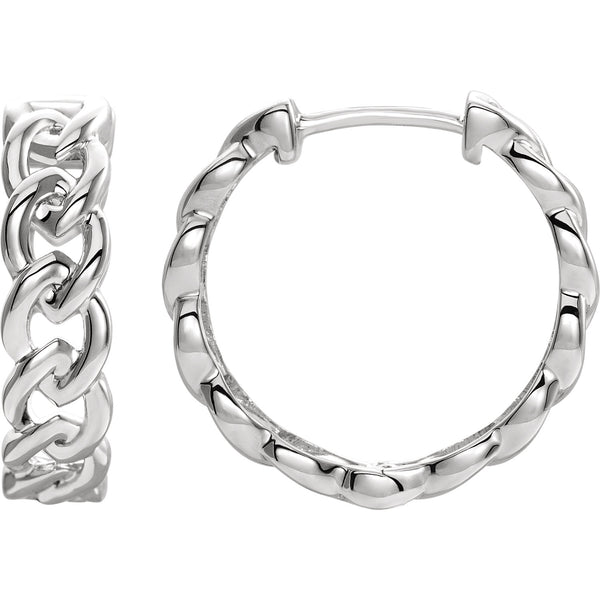 Metal Chain Link Hoops