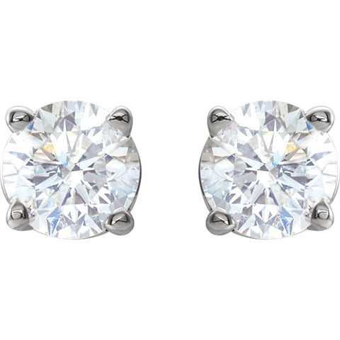 1/2 CTW Diamond Studs
