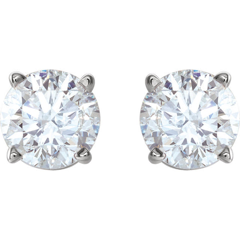 1 CTW Diamond Studs
