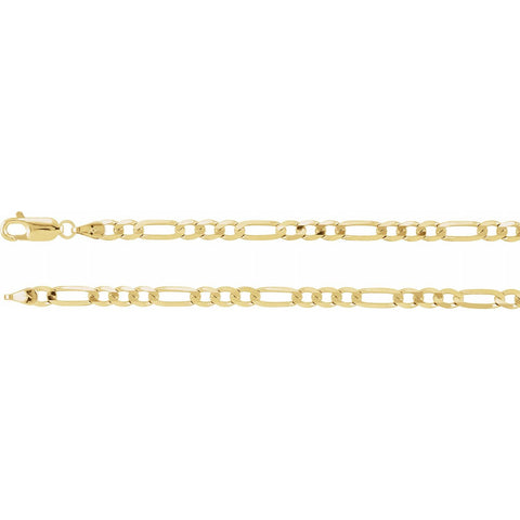 Men's Figaro Chain Bracelet/Necklace