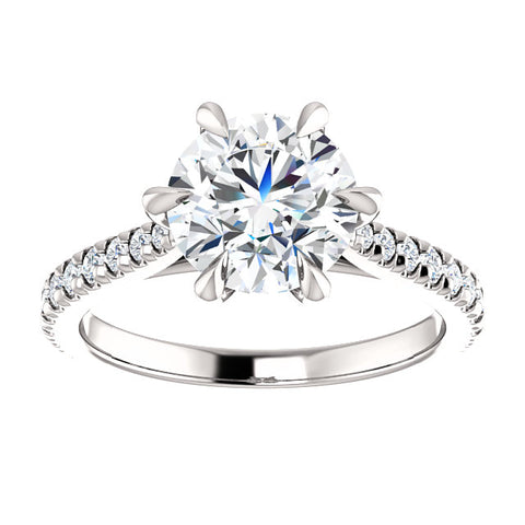6-Prong Diamond Engagement Ring
