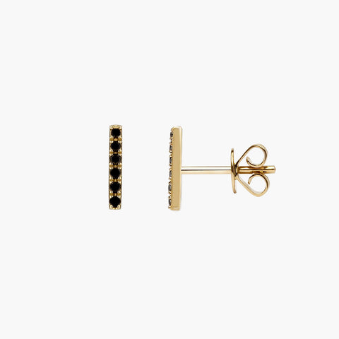Black Diamond Bar Studs