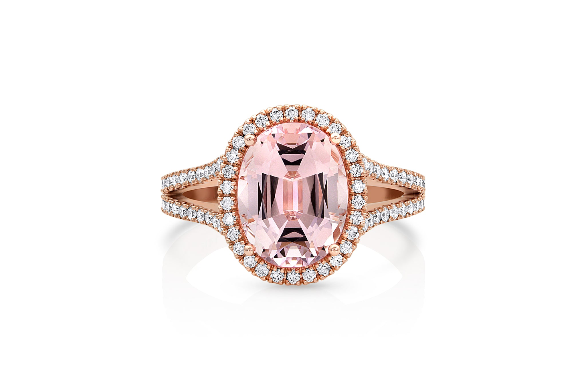 Morganite Statement Ring
