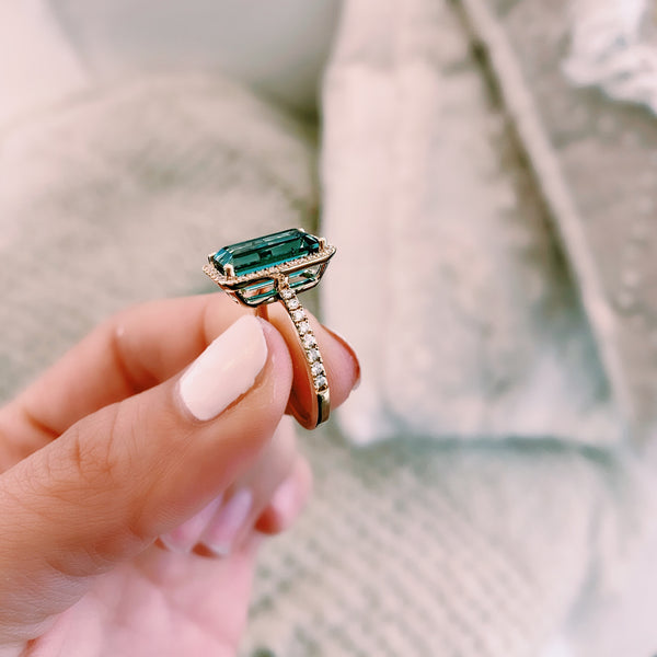 Tourmaline Statement Ring