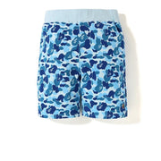 BAPE ABC One Point Sweat Shorts Blue