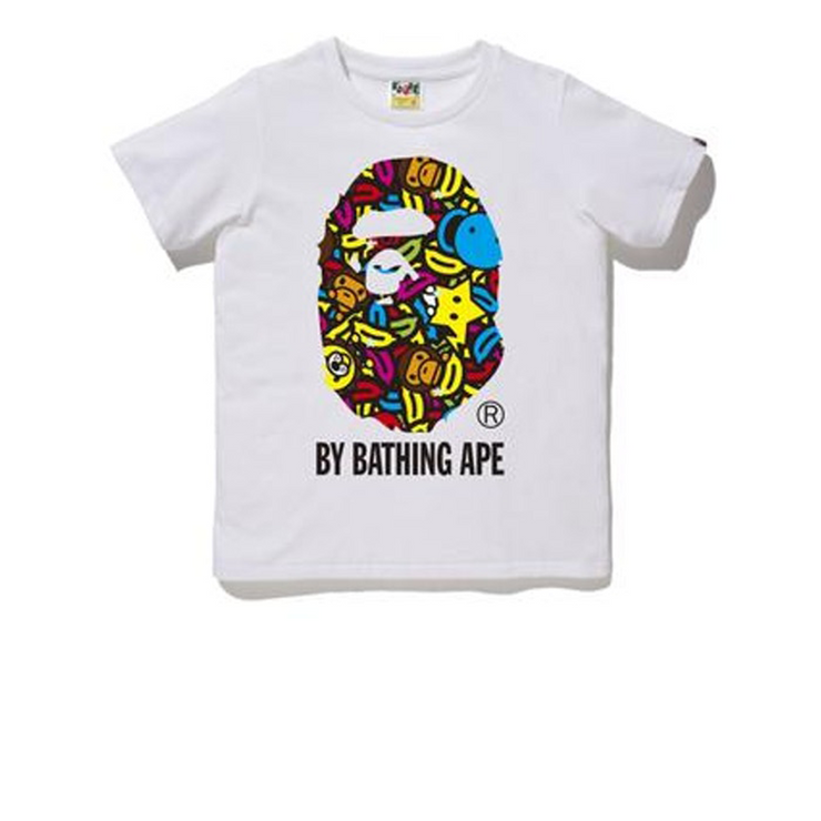 BAPE Milo Banana Pool Tee White