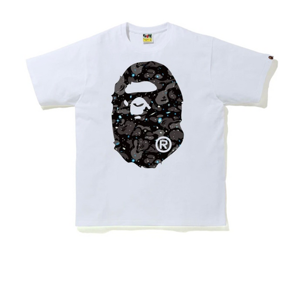 Bape Galaxy Camo Ape Head Tee