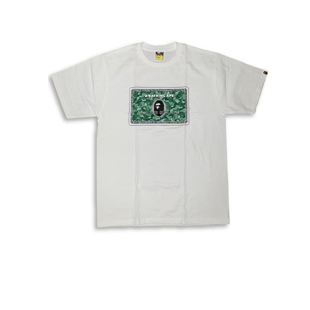 "Bape Hong Kong Members Only ""Card Tee"""