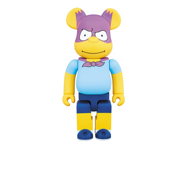 Bearbrick Bartman 400% Yellow