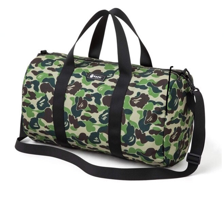 Bape ABC Camo Green Duffle Bag
