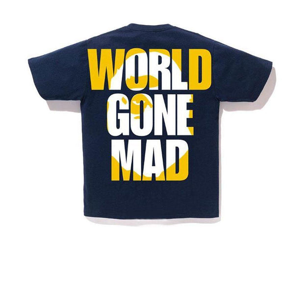 BAPE World Gone Mad Tee
