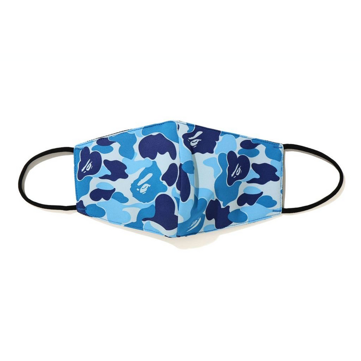 BAPE ABC CAMO MASK BLUE