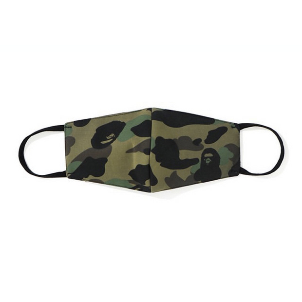 BAPE 1ST CAMO MASK GREEN
