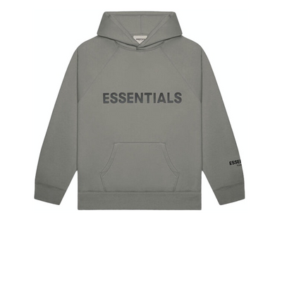 FEAR OF GOD 3D Pullover Hoodie Charcoal - Rerun Toronto