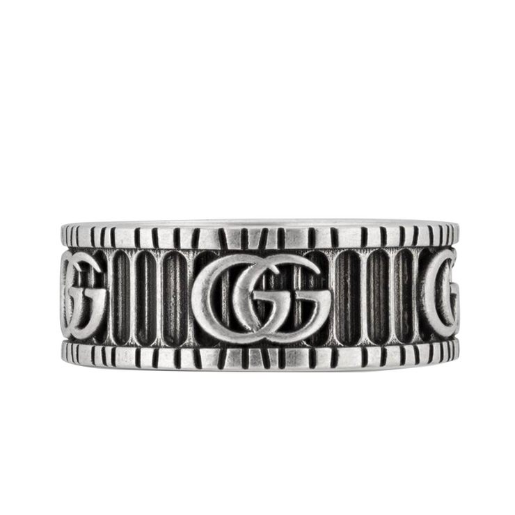 Gucci Double G Ring Silver