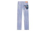 Gucci Wolf Patch Denim Jeans