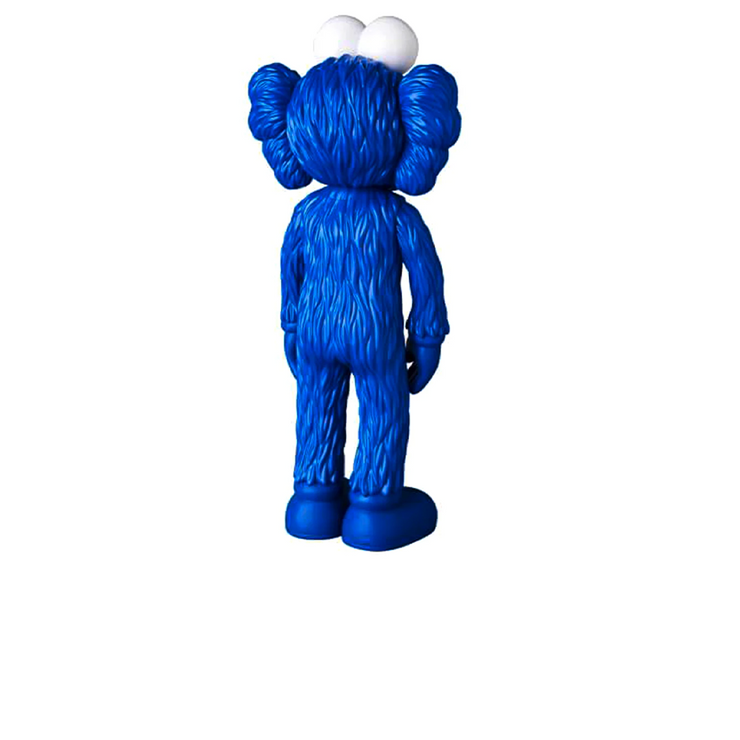 KAWS BFF Open Edition Vinyl Figure Blue MoMA Exclusive