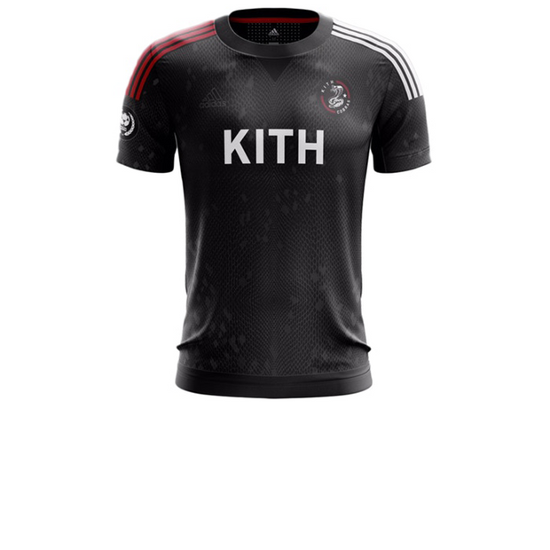 Kith adidas Soccer Cobras Home Game Jersey Black