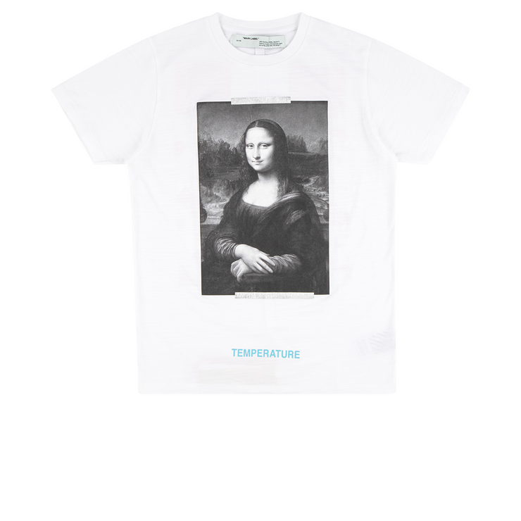 Off White Mona Lisa Tee