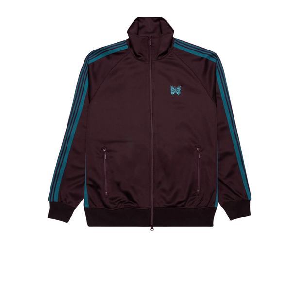 NEEDLES TRACK JACKET BORDEAUX