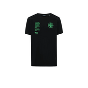 OFF-WHITE Slim Fit Arch Shapes T-Shirt Black/Green