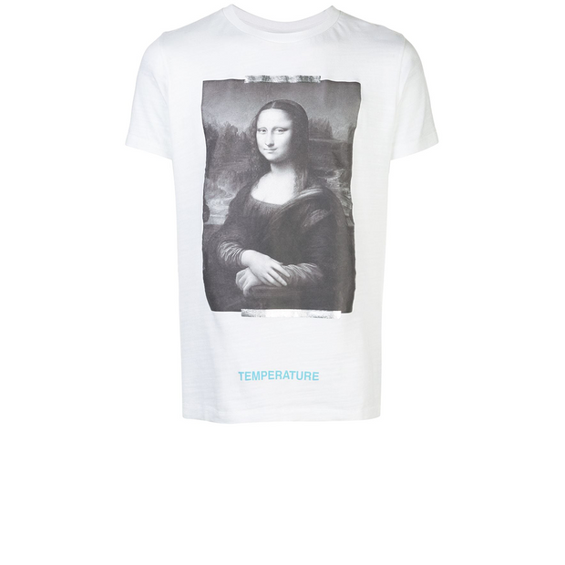 Off White Mona Lisa MCA Exclusive Tee