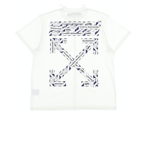 Off White Airport Tee White