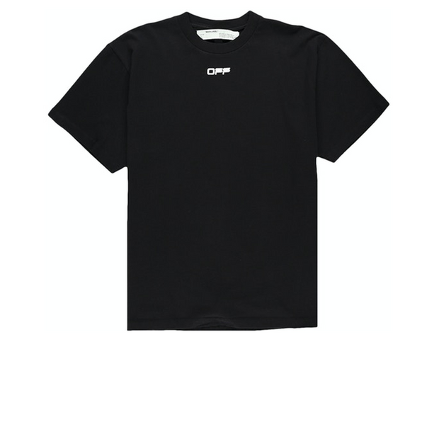 Off White Airport Tee Black