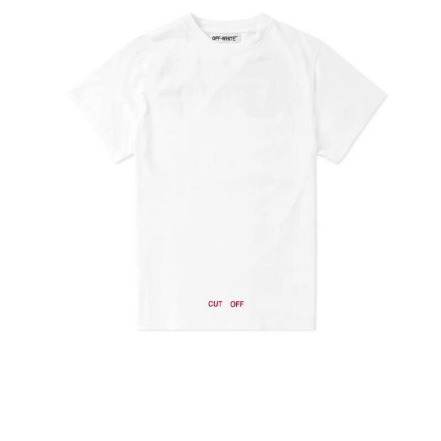 Off White Silver Off Tee
