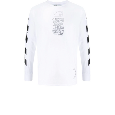Off White Dripping Longsleeve - Rerun Toronto