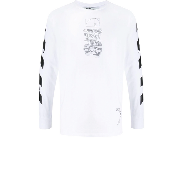 Off White Dripping Longsleeve