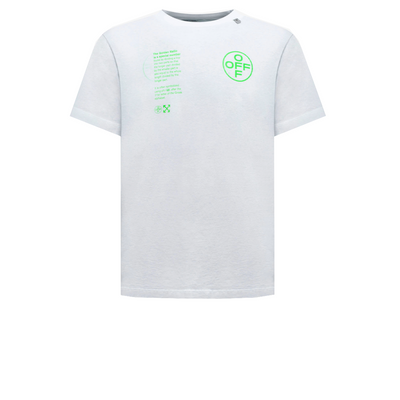 Off White Green Golden Ratio Tee - Rerun Toronto