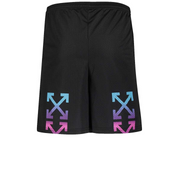 Off White Gradient Mesh Shorts - Rerun Toronto