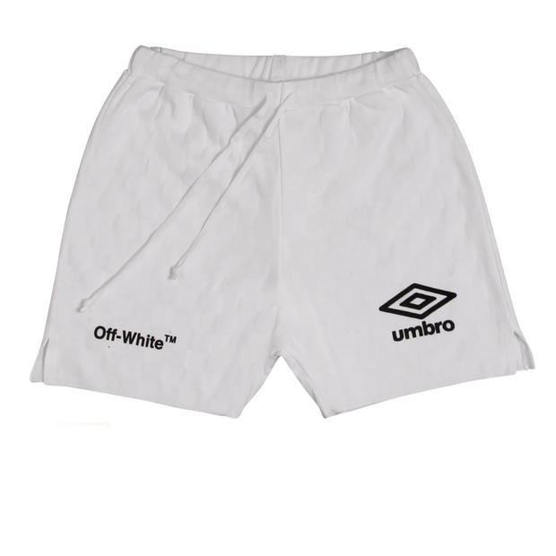 Off White Umbro Shorts White - Rerun Toronto