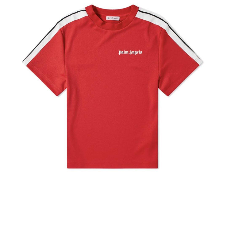 Palm Angels Red Short Sleeve Crewneck
