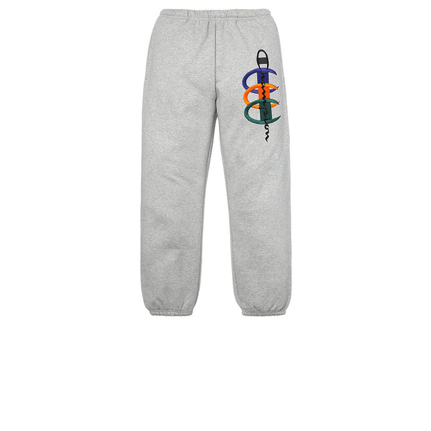Supreme x Champion Stacked C Sweatpant Heather Grey